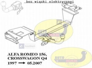 hak-holowniczy-alfa-romeo-156-crosswagon-q4-alx34a