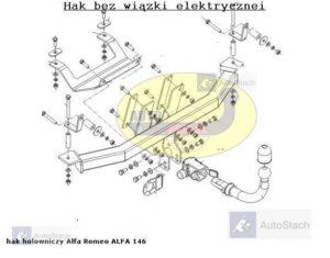 hak-holowniczy-alfa-romeo-alfa-146-al32a