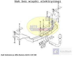 hak-holowniczy-alfa-romeo-alfa-159-al38