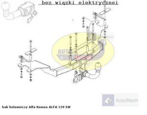 hak-holowniczy-alfa-romeo-alfa-159-al38a
