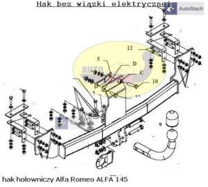 hak_holowniczy_alfa_romeo_alfa_145_al33