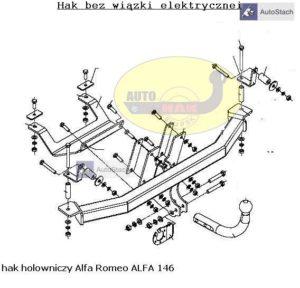 hak_holowniczy_alfa_romeo_alfa_146_al32