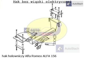 hak_holowniczy_alfa_romeo_alfa_156_al34